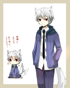 Akise Aru, his hair is a bit on the grey side though.
