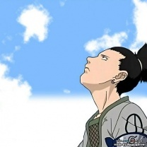 shikamaru nara / naruto he loves to watch the clouds~