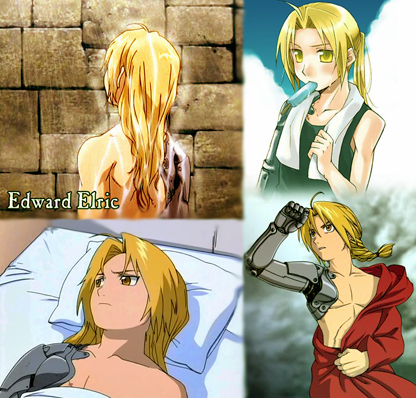 Edward Elric. :3 He&#39;s a beautiful bishounen. <3 