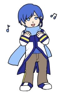 bernyanyi KAITO . !