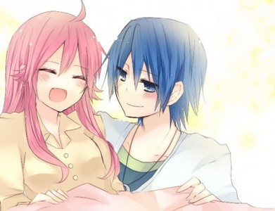Yui And Hinata Angel Beats Post a pic of your OTP...