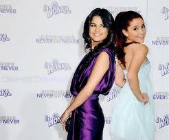 Selena gomez and ariena grande