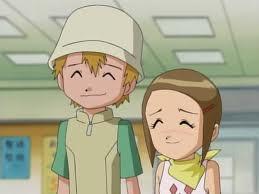 My parte superior, arriba three are Takeru(Digimon adv.1&2) Hikari(Digimon adv.1&2) Paine(Final fantasía X-2)