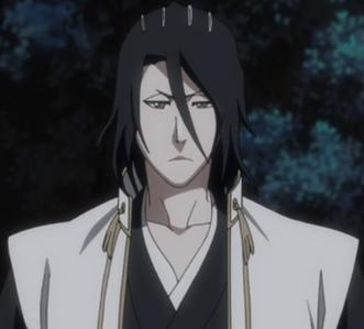"""I really like Byakuya kuchiki from """"bleach"""" <3"""