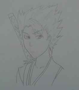 amazing!!! آپ should make مزید step سے طرف کی steps coz they're really helpful :D and i don't really know how to draw :\ but this is my سیکنڈ draw ever so what do آپ think? btw, he is Hitsugaya toushiro from Bleach <333