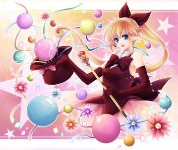 Kaitou Saint Tail ( picture below) Kamichama Karin Mermaid melody pichi pichi pitch Tokyo mew mew Earl &Fairy Full Moon wo Sagashite Kamikaze Kaitou Jeanne Sailor moon !!! <3