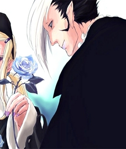 Arystar Krory is a funny vampire from D-gray man, he is weird but nice :) :3 :D