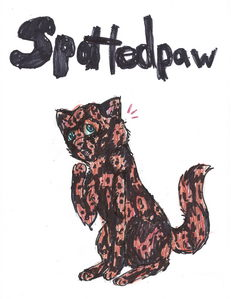 id be happy,and according to the website id be spottedpaw :p