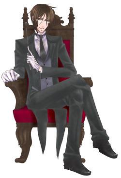 Sebas-chan's hair is sorta long....>_<