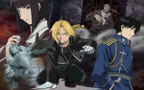 Fullmetal alchemist I've lost count how many times I've watched it.