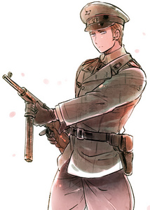 Nein. But I am a very good shooter in the Deuschland forces... I am Germany. Ludwig Beildschmidt at your service.