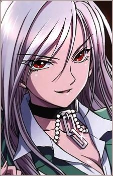 This is Moka Akashiya, S Class vampire from Rosario + Vampire
