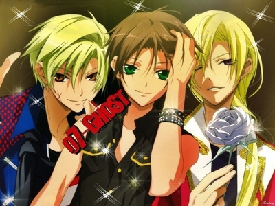 How about adding Hakuren? >.< Mikage and Teito it's just too ordinary...