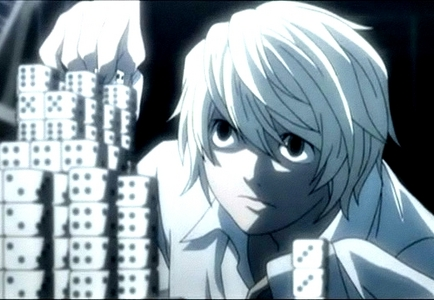 Near from Death Note, he's L's successor :)