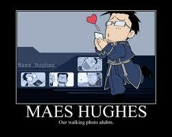 Maes Hughes! He's so obsessed with Elecia. Why did he have to die??!!! T_T