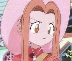 mimi tachikawa she's a total air head if tu watch digimon adventure you'll know what i mean :)