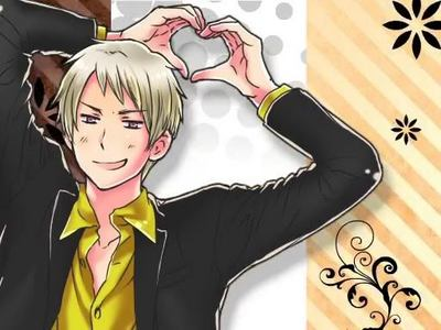 PRUSSIA. i dunno... but he might laugh to hard and the police people would catch us. i would be liek SO TOTALLY WORTH IT! x3