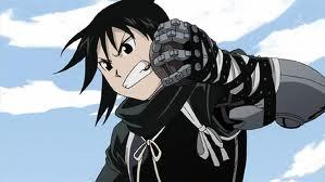 lan fan from FMA Brotherhood shes not really feminine but she is awesome!!!!!:D