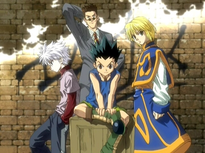 Leorio from Hunter X Hunter The tallest one