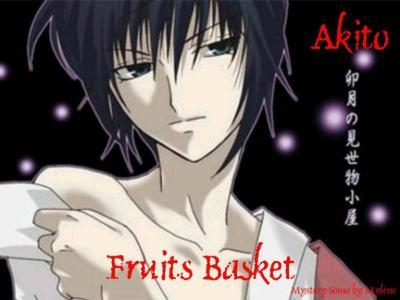 """Akito Sohma from """"fruit basket"""" (he's so damn sexy I gotta post his pic) <33333333"""