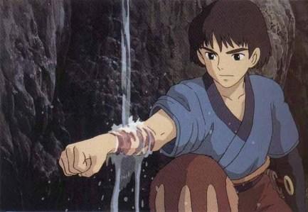 Ashitaka from Princess Mononoke.