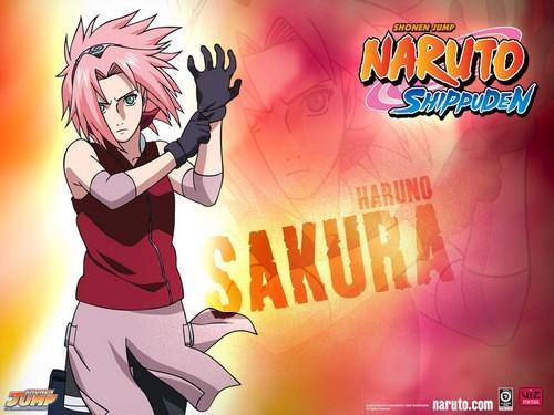 Sakura and Sasuke!!! if i had to choose just one I'd say Sakura XP