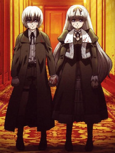 The Vampire Twins, Hansel & Gretel - Black Lagoon two truly sick & twisted little shits! they actually managed to creep ME out!