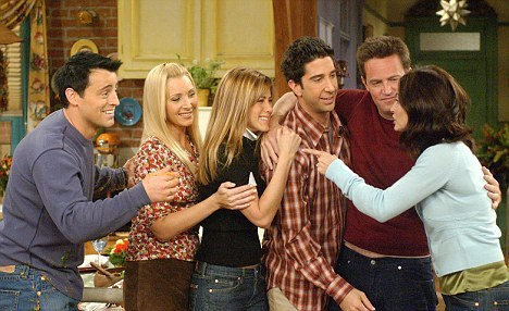 Friends. I'll never get tired of this show.