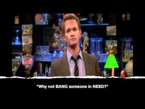 o-o My favourite thing is Barney Stinson, of course.