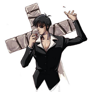 Wolfwood from Trigun! I wish he was alive...