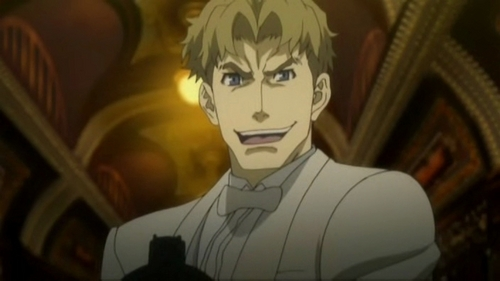 ladd russo/ baccano! reason: he's f**king crazy ...to the extreme..