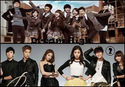 my お気に入り korean drama(s) so far are Dream High 1 & 2