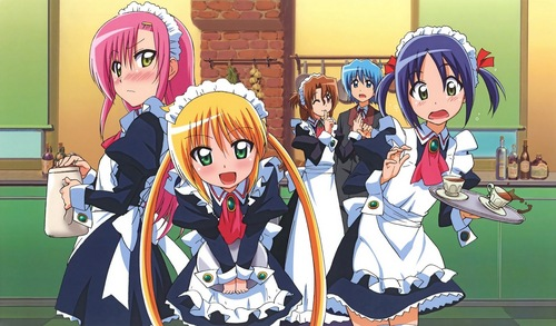 This is from Hayate the combat butler