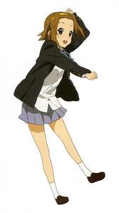 Ritsu Tainaka from K-ON! She's not so femenine.