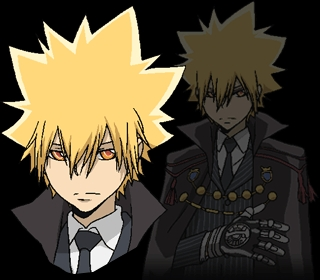 Vongola Primo/Giotto from KHR!<3