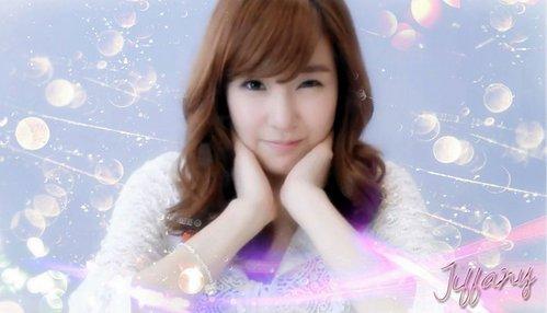 Cube girl Tiffany,she owns the most pretty eye.