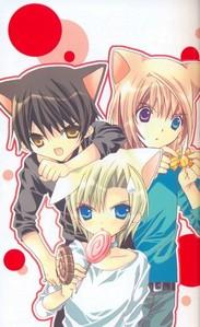 Jin, Micchi and Kazune <3