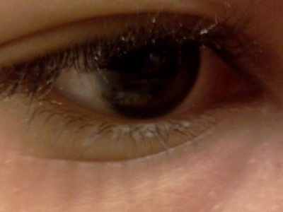 Brown -.- That's my eye right there...
