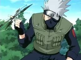 I think Kakashi can be pretty scary when he gets serious.