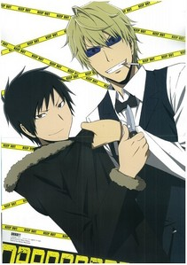 Izaya & Shizuo - durarara!! Shizuo is my fav <33