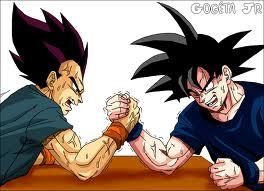 Up until the last few episodes. goku and Vegeta goku is easily my favorito!