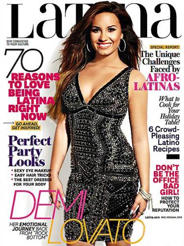 this one, demi on Latina magazine..^^