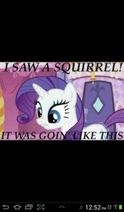 I got rarity!!!! In reallife im more like pinkie,but i love rarity as well! Ah happiness,its a wonderful wonderful thing,JUST LIKE THIS PIC.............