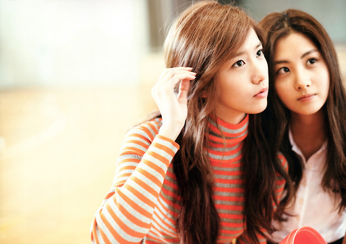 yoona and seohyun