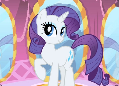 I got Rarity! MAI FAVOURITE PONY~