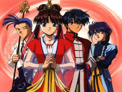 mine's Fushigi Yuugi.. one upon a time, i was 7 then.. i just randomly changed the channels in our TV, hoping to find something worth to watch. then i came across this. i didn't know it was called anime and it was the first time i saw one but the màu sắc and the art style caught my attention so i stay tuned. so now, i'm an otaku... :D
