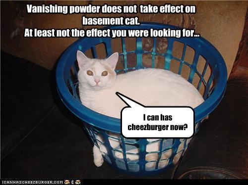 I will use my vanishing powder