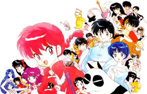 Ranma 1/2 when i watched it with my brother when i was still 6 years old ^^
