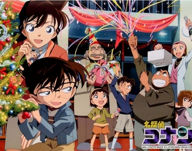 Meitantei Conan (but it was the eng dub Case Closed firstly..I watched it when it was on Adult Swim)was my first anime and it was the anime that got me into anime as well manga