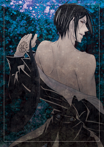 If I could meet a Black Butler - Il maggiordomo diabolico character it would either be Ciel, o it would either be Sebastian. But I prefer meeting Sebastian. :3 (He's smexy)